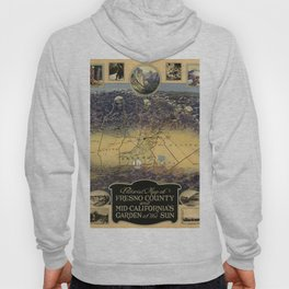 Map of Fresno 1919 Hoody