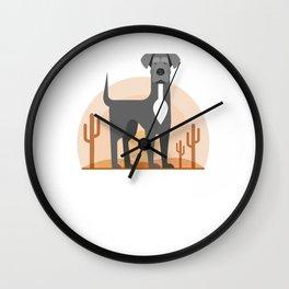 Odin of the Desert Wall Clock