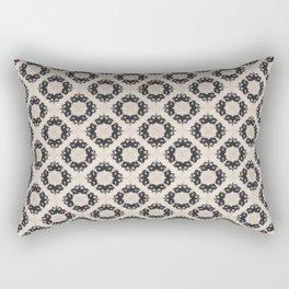Rorschach Lace 2 Rectangular Pillow