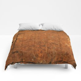 Orange Dream;  Vintage Old School Series Comforters