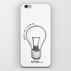 The Lord works in mysterious ways iPhone & iPod Skin