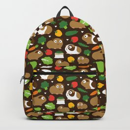 Guinea Pigs And Their Treats Backpack