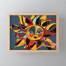 A sun for Emma Framed Mini Art Print
