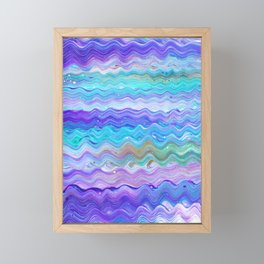 Unicorn Brainwaves Framed Mini Art Print