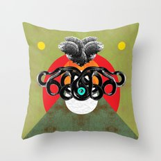 LOST ALTAR II Throw Pillow