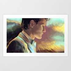 When good man goes to war Art Print