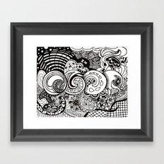 IN Framed Art Print