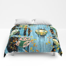 Overnight Owl Conference Comforters