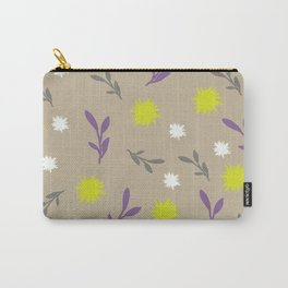 Floral pastel Carry-All Pouch