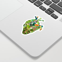 Botanical Heart Sticker