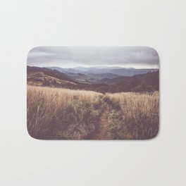 Bieszczady Mountains - Landscape and Nature Photography Bath Mat