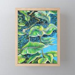 Julie's Jungle Framed Mini Art Print