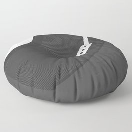 Vinyl Record Floor Pillow
