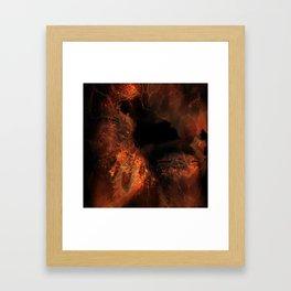 Jupiter Cave Framed Art Print