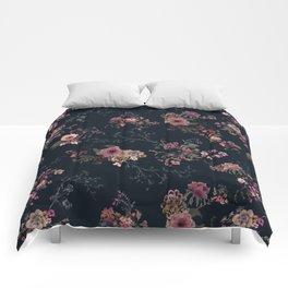 Japanese Boho Floral Comforters