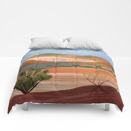 Copper Town (Square) Comforters