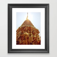 Blessed Buddha Framed Art Print