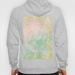 Faded butterfly and mandala in green Hoody
