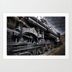 Heavy Iron Art Print