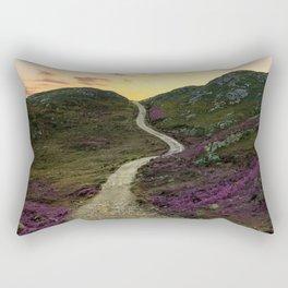 Sunset at Skye Island Rectangular Pillow