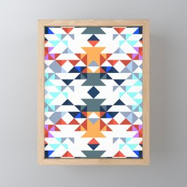 Aztec 5 Framed Mini Art Print