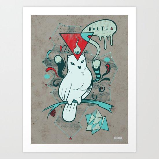 Noctua Art Print