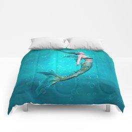 Underwater Mermaid Comforters