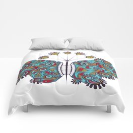 constellation butterfly (ORIGINAL SOLD). Comforters