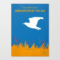 No753 My Manchester by the Sea minimal movie poster Canvas Print