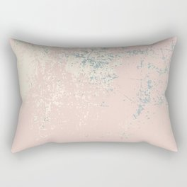 Patina blush pink gold Rectangular Pillow