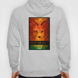 What the fox ? - color Hoody