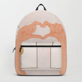 Hand Heart Backpack