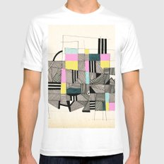 - architecture#01 - Mens Fitted Tee White MEDIUM