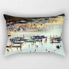Rowing Regatta Rectangular Pillow