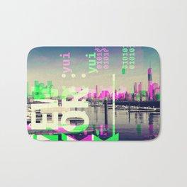 NEW YORK (GLITCH CITY #54) Bath Mat