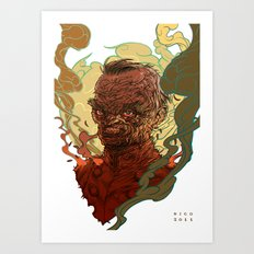 Dead Major Art Print