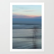The Sea Sings My Name Art Print