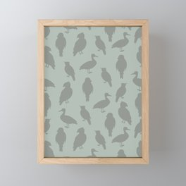 Fly High (Wild Meadow) Framed Mini Art Print