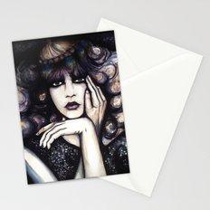 Blonde Curls // Fashion Illustration Stationery Cards
