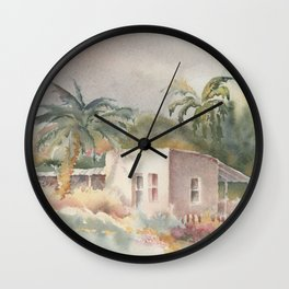 On the Street where you live Wall Clock