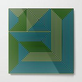 concentric 07 Metal Print