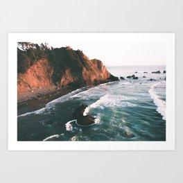 Oregon Coast V Art Print