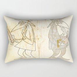 Spy vs. Spy Rectangular Pillow