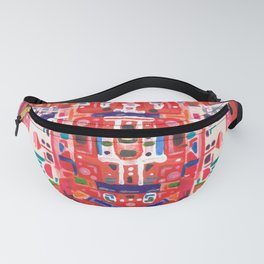 Scarlet Serpent of Knowledge Fanny Pack