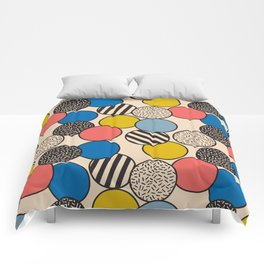 Memphis Inspired Pattern 5 Comforters