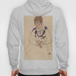 "Egon Schiele ""Bildnis Edith Schiele (Portrait of Edith Schiele)"" Hoody"