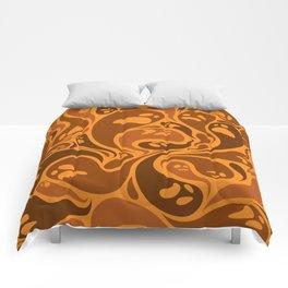 Halloween ghosts seamless pattern Comforters