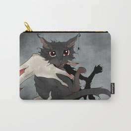 Naughty Vampire Cat Carry-All Pouch