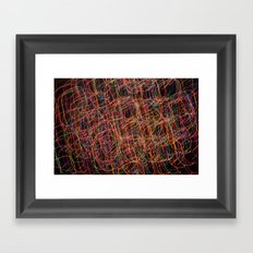Color Swirl Framed Art Print