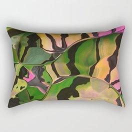 Vegetarian Zebra Rectangular Pillow